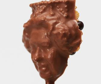 3D-printed chocolate service wants to scan your face and put in on a lolipop
