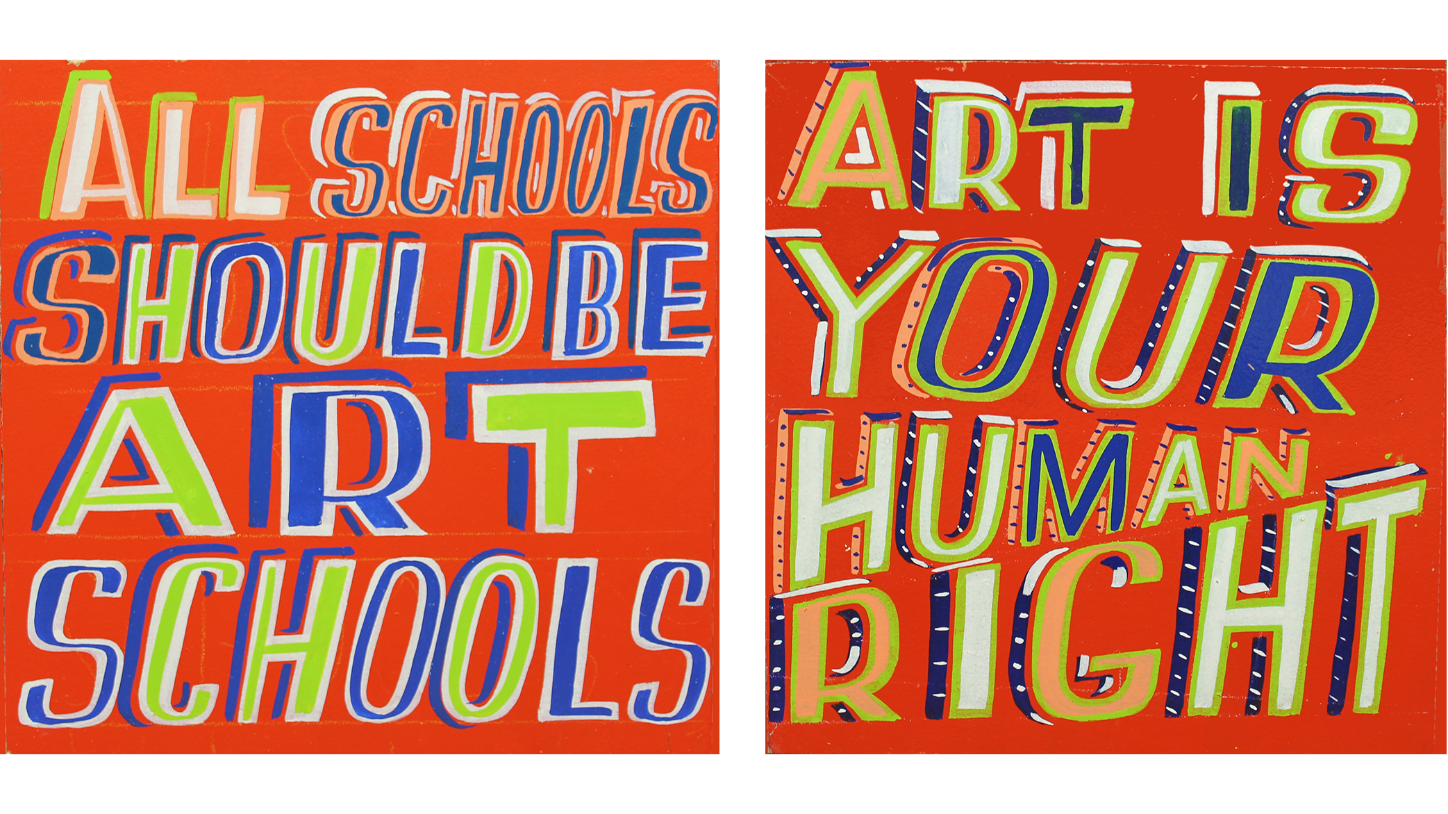 Bob And Roberta Smith S New Show Champions The Value Of