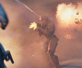 Axis creates crazy freefall explosive madness for Halo 5: Guardians
