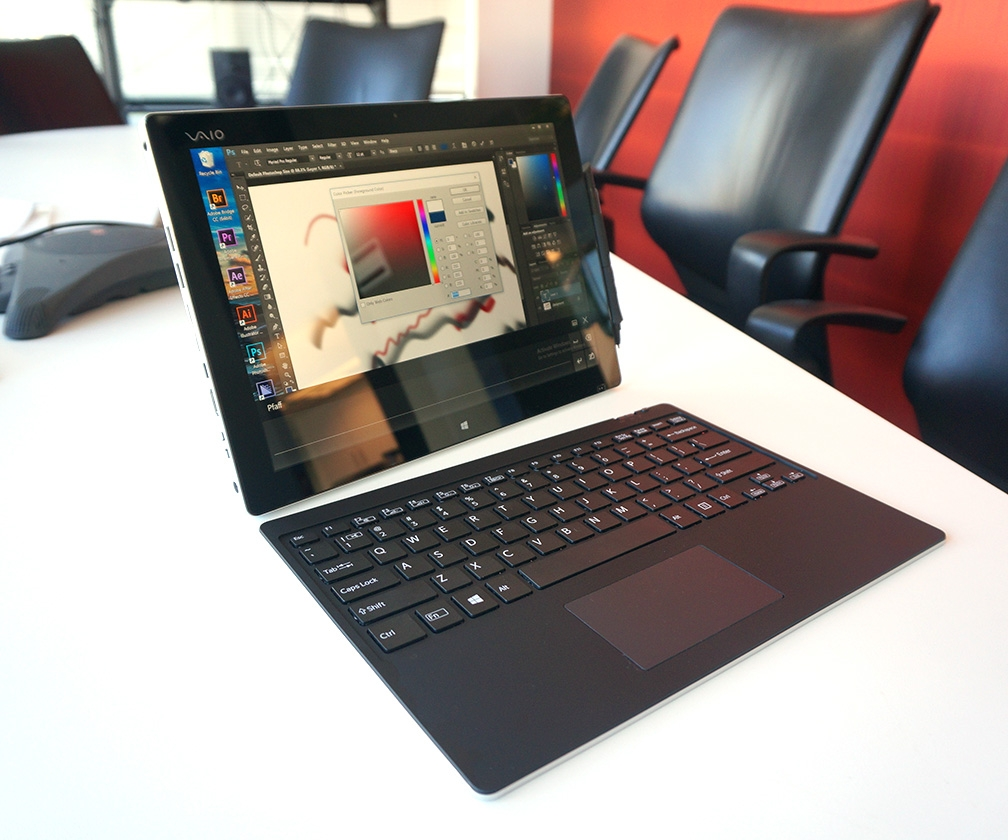 Vaio Z hands-on review: this Surface Pro 4 rival targets illustrators, designers and photographers