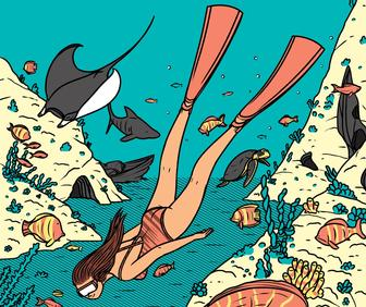 Janne Iivonen: bright and brilliant comic-style illustrations