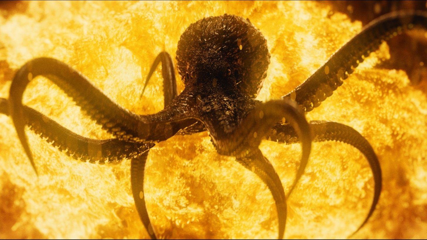 spectre titles design  how framestore combined explosions and octopi for james bond u0026 39 s latest