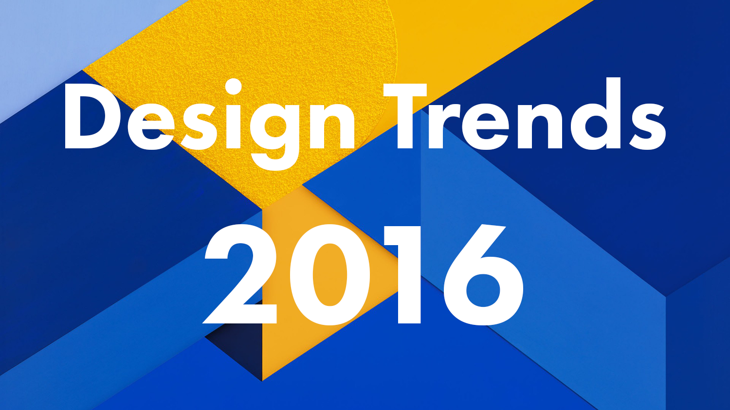 Trendy Graphic Design: Design Trends 2016: 21 Leading Designers, Artists And