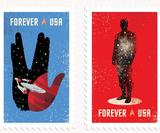 Star Trek stamps: These postage stamps will go on sale soon for the show's 50th anniversary