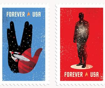 Star Trek turns 50 today – and there's beautifully designed postage stamps to celebrate