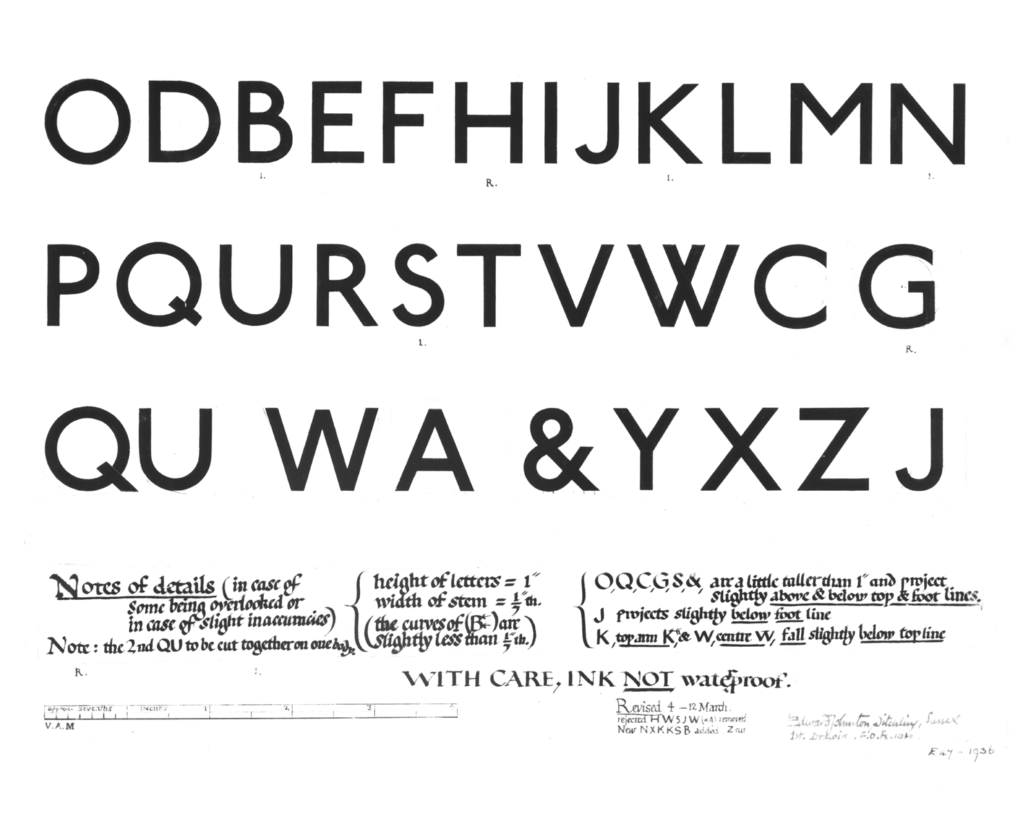 London UndergroundS Iconic Johnston Sans Typeface Is  Years Old