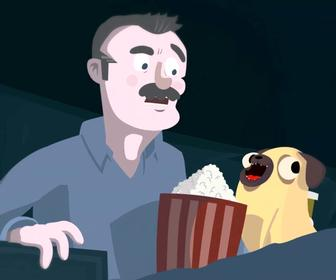 How astronaut Chris Hadfield, two British animators and a pug created a science show