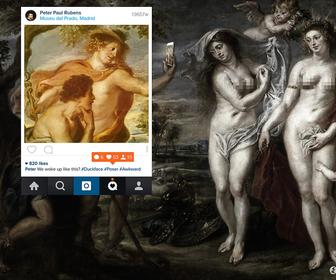 Serial Kolor hilariously reimagines famous Greek art as Instagram posts