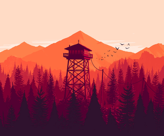 Illustrator Olly Moss' beautiful artworks underpin the coolest game in the world right now