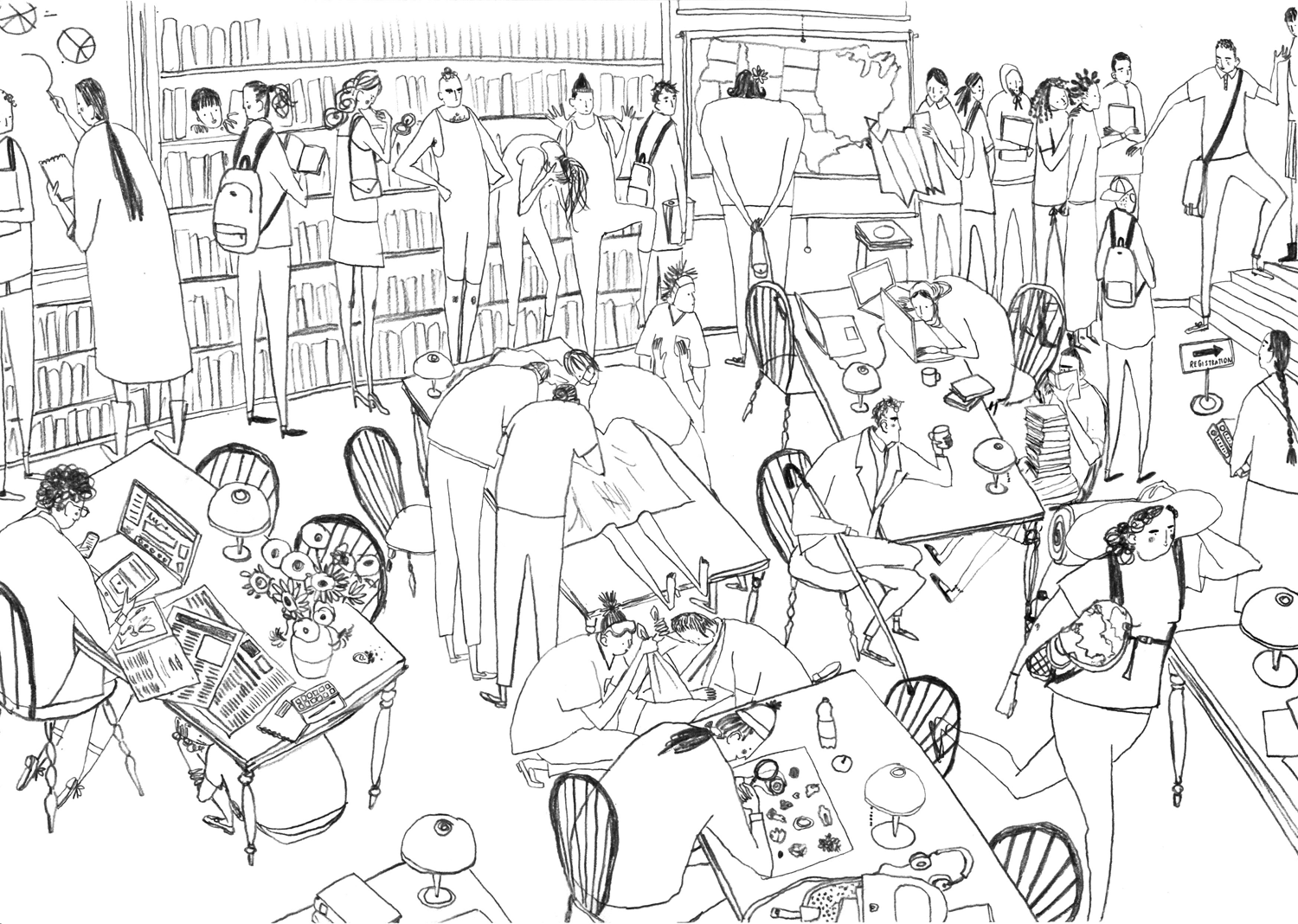 Uncategorized People Drawing how to draw groups of people and crowds digital arts