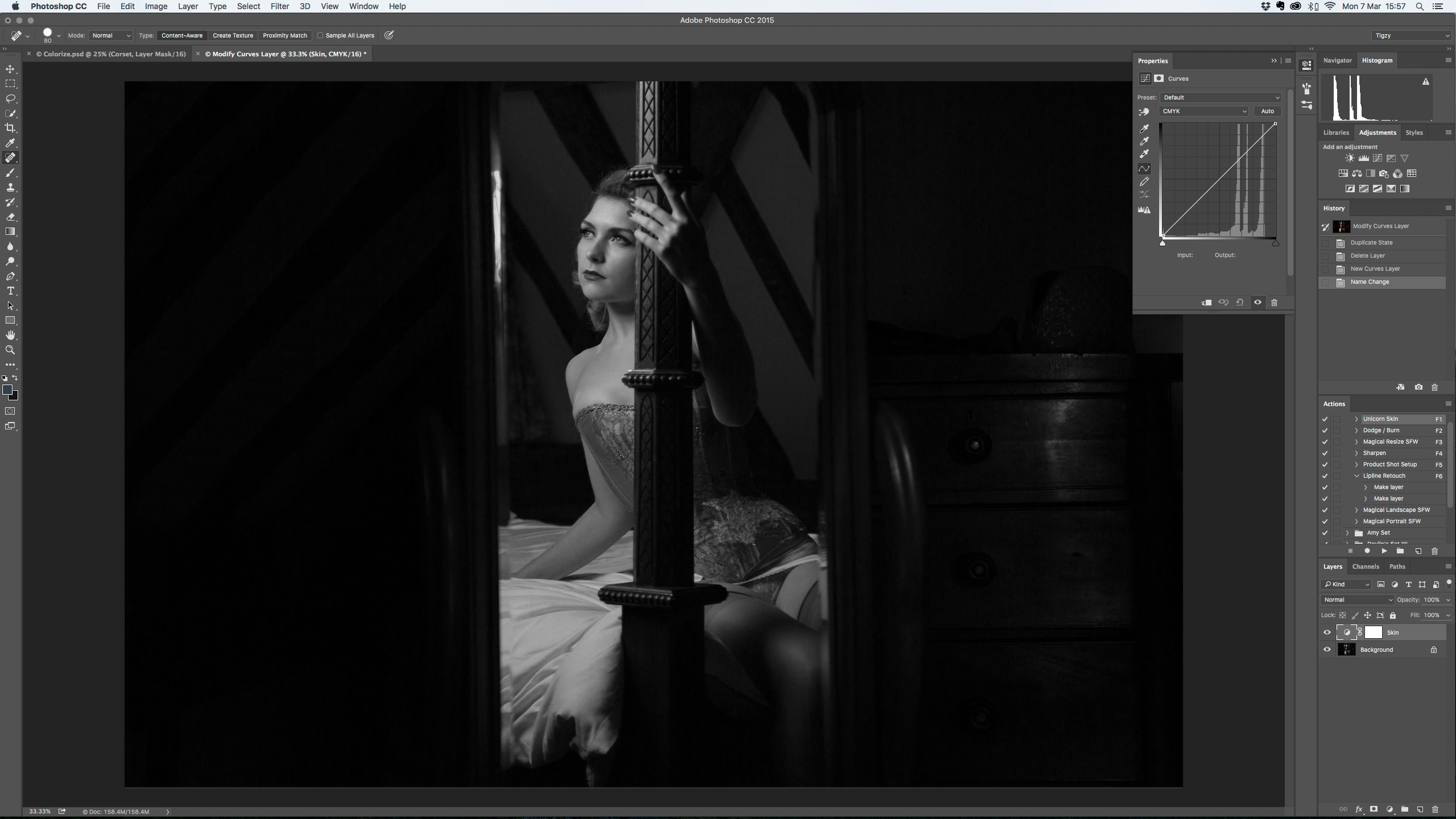 Photoshop tutorial how to colourise a black and white photo in photoshop