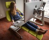 Lie back, relax and get to work with the Altwork crazy configurable desk