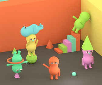 We love the bonkers, fun and beautiful world of Julian Glander