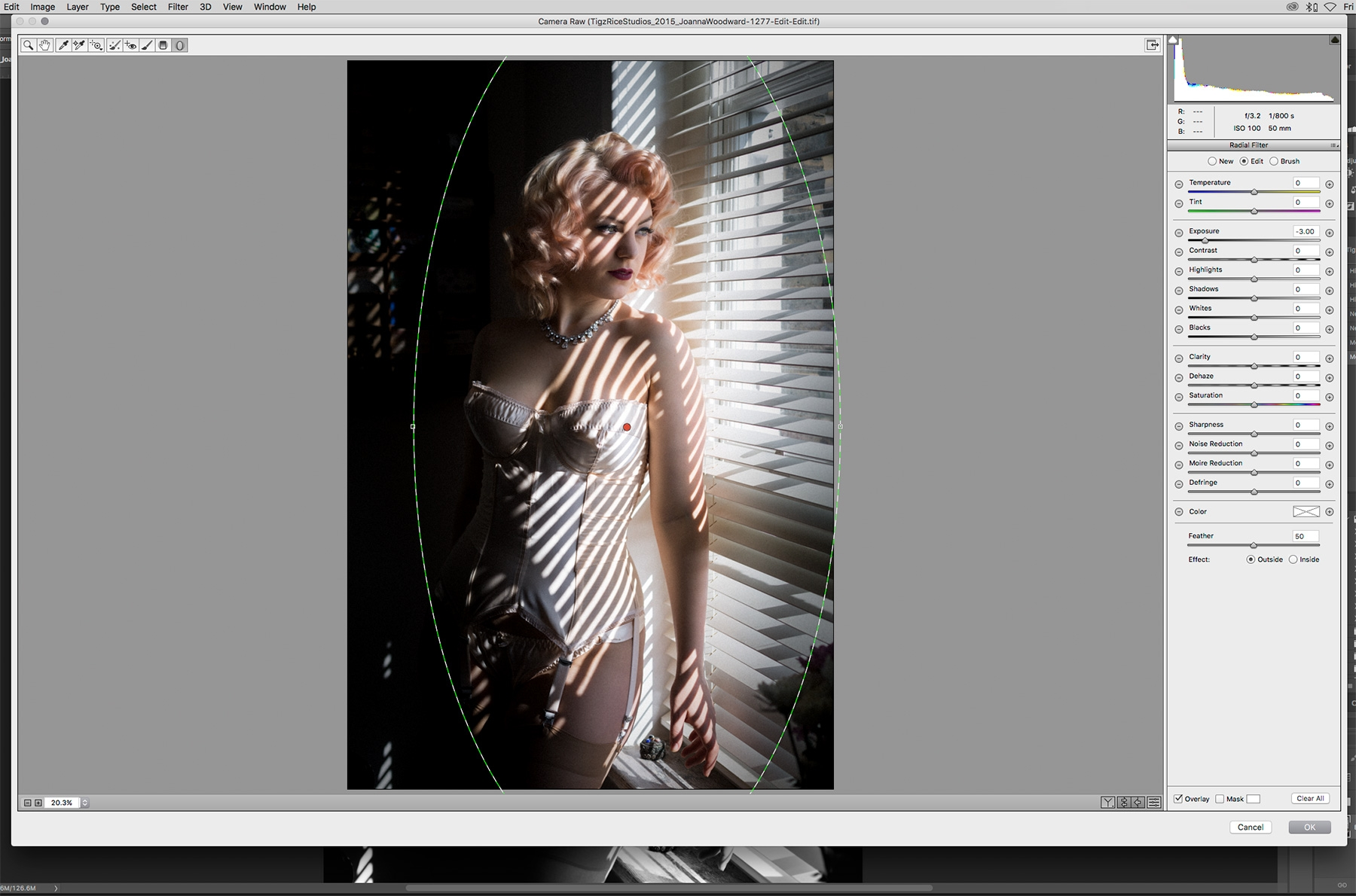 how to make an image from the 1950s photoshop