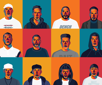 16 illustrations of the most influential Grime MCs