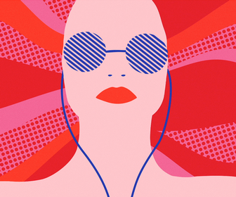 Get your summer jam on with these vibrant illustrations for Spotify