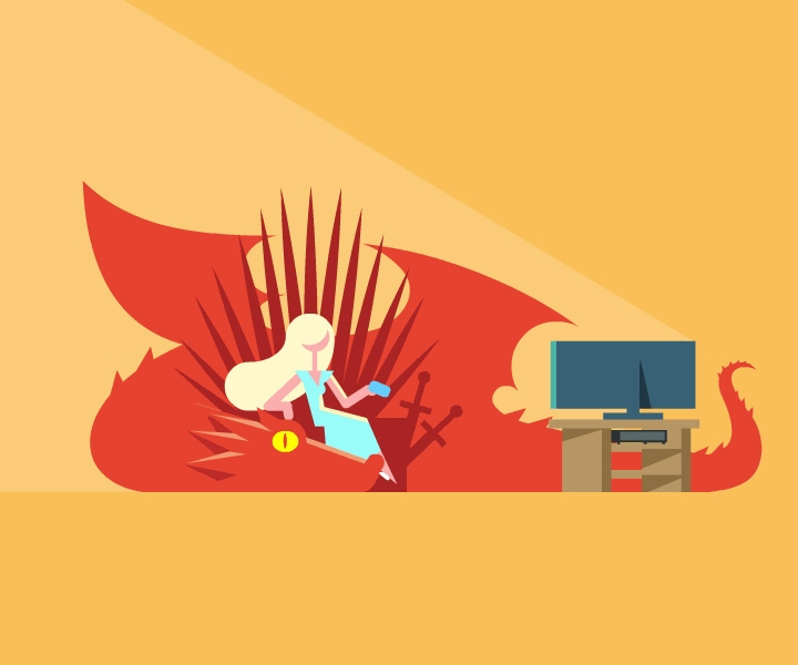 Game of Thrones GIFs: how Eran Mendel is creating hilarious weekly GIFs based on each episode's most shocking moment