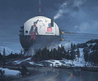 Interview: Simon Stålenhag discusses his fantastic, unsettling sci-fi paintings