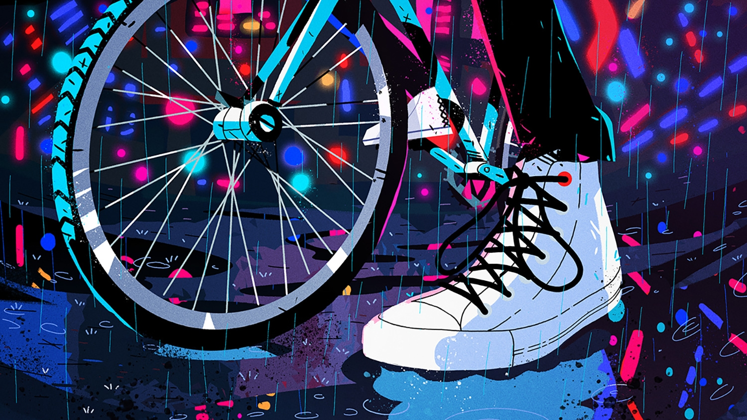 12091203434885 These energetic GIFs and animations showcase Converse s reinvented classic  shoe