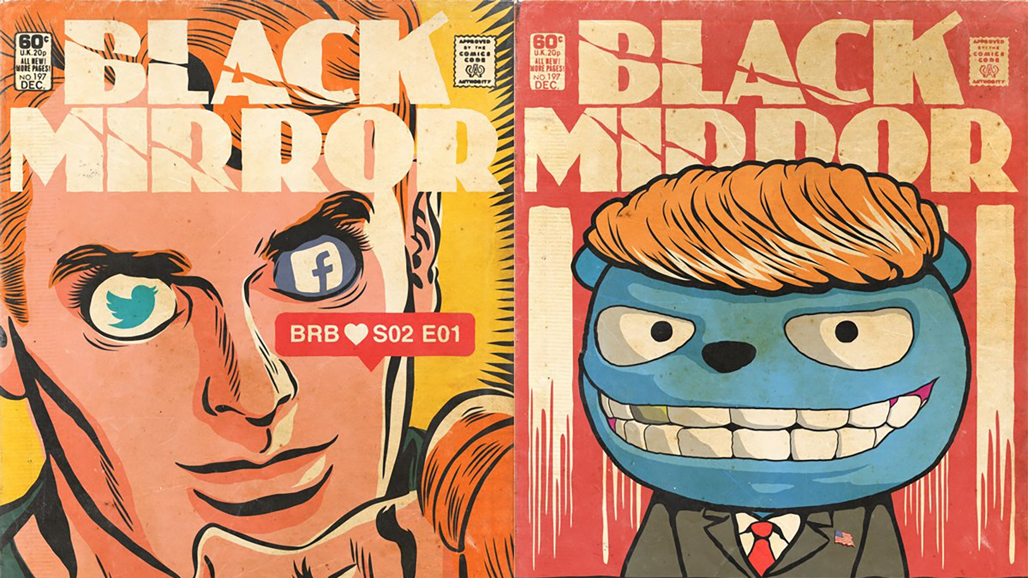 More Black Mirror Episodes Turned Into Golden Age Comic