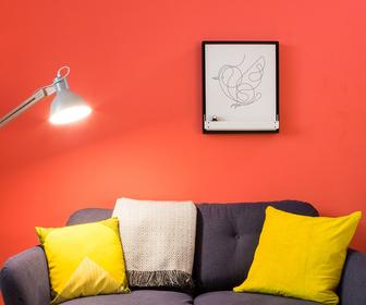 Joto is a robot whiteboard that draws your art and designs