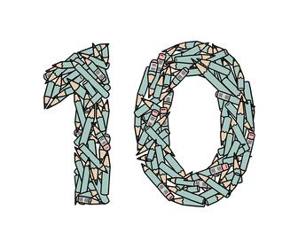 10 fantastic illustrations inspired by the number 10