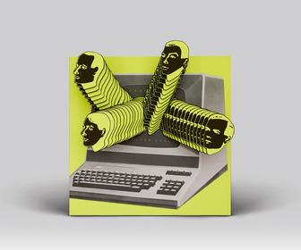 Classic Kraftwerk album cover redesigned and animated for Record Store Day