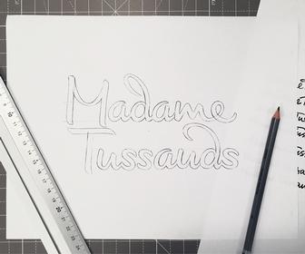 Lettering artist Alison Carmichael on redesigning Madame Tussauds' logo