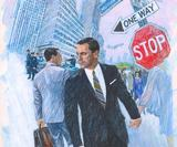 Celebrating 60 years of Brian Sanders' illustration – from James Bond to Mad Men
