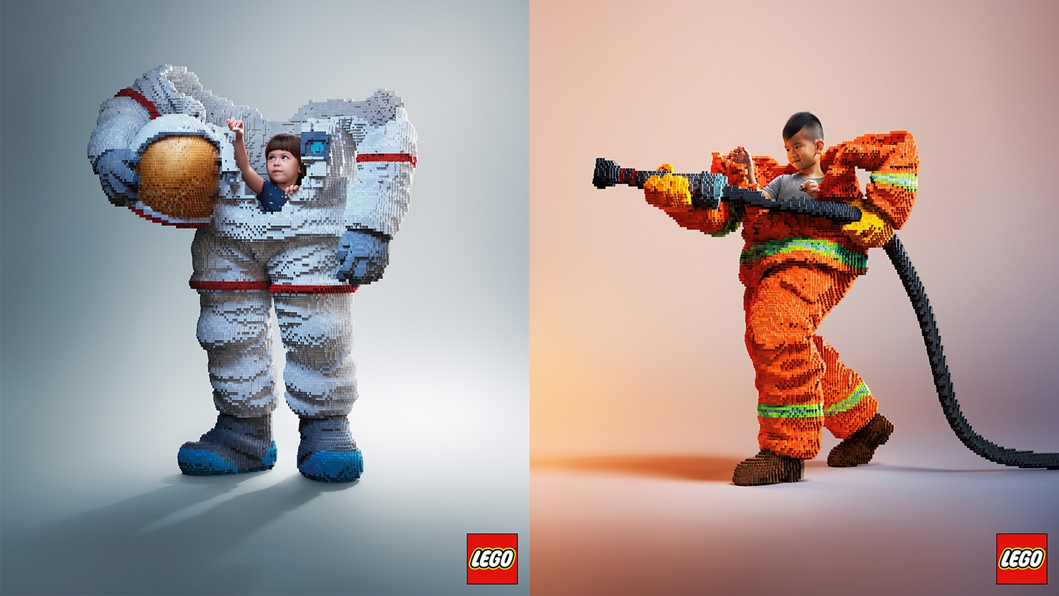 These brilliant Lego posters show just what children's imaginations are capable of