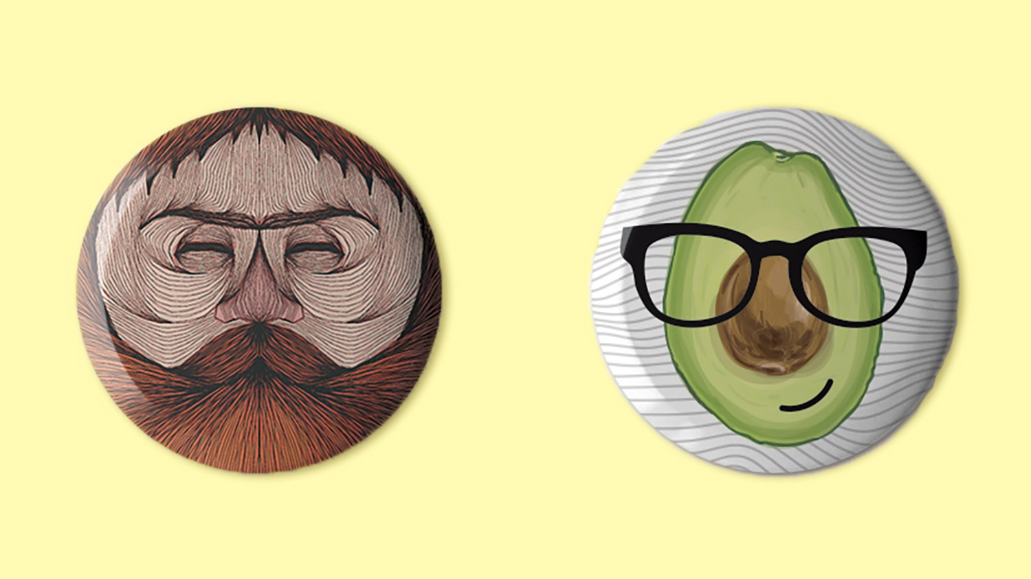 Button Badge Design see the best button badge designs of 2017 digital arts