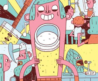 Illustrator Alfonso De Anda on how to create playful, whimsical characters