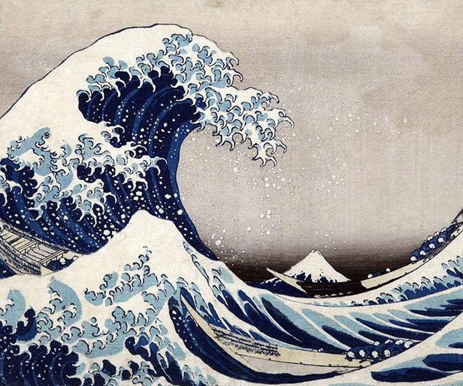 Let these stunning pieces from a new book on Japanese master Hokusai inspire your next work