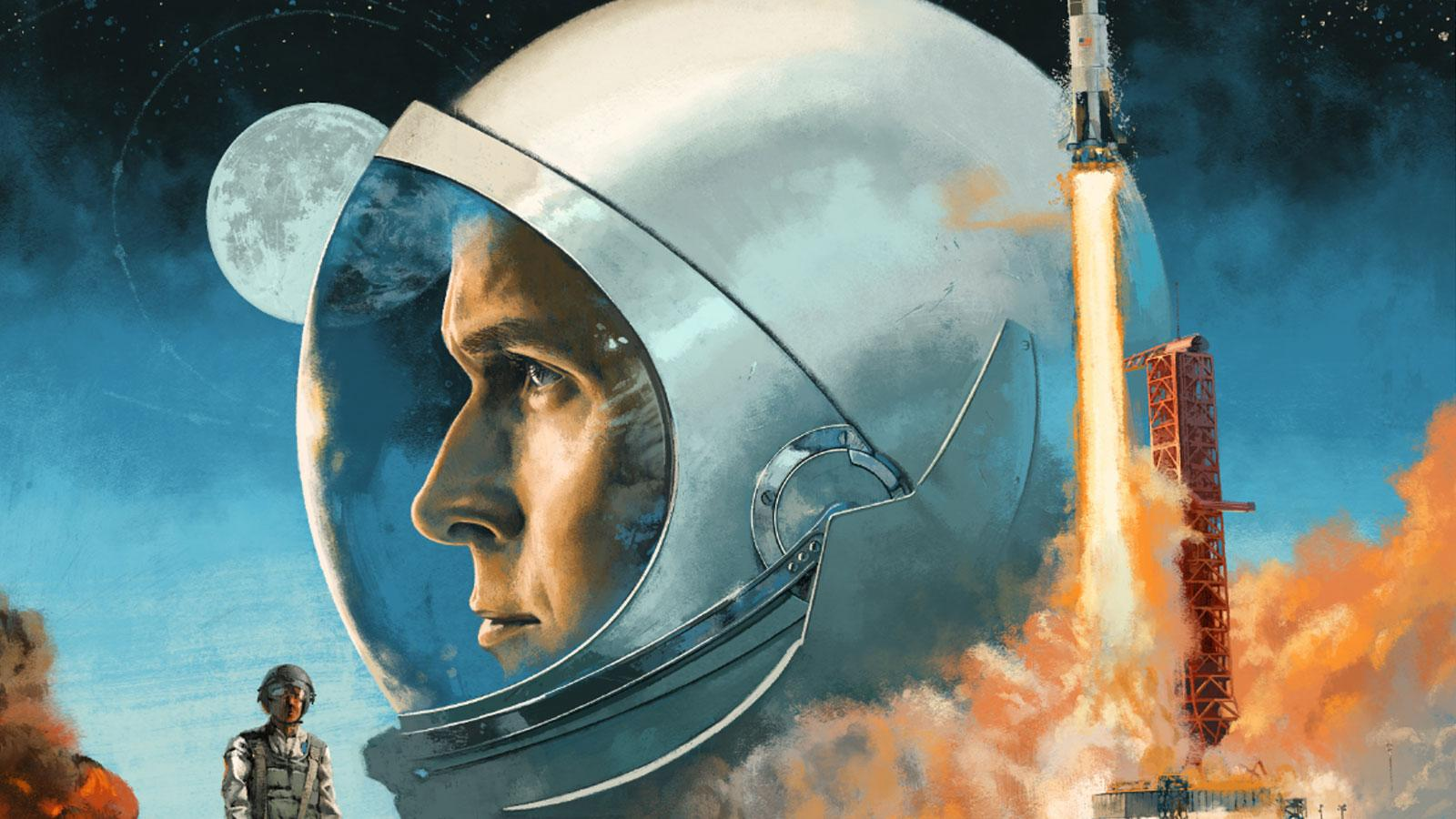 This First Man Soundtrack Vinyl Cover Art Is Exquisitely
