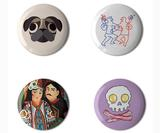 See the Best Button Badge Designs of 2018, from cutesy dogs to Frida Kahlo homages