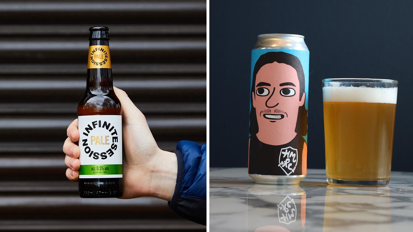 The Most Inspiring Alcohol-Free Beer Label Designs: Sober brews which are far from dry in design