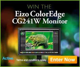 Win the Ezio ColorEdge CG241W Monitor